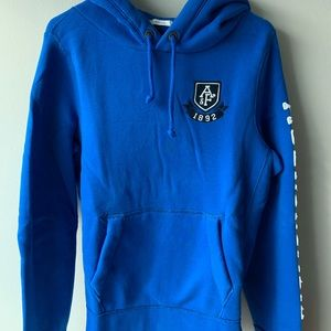 Abercrombie & Fitch classic hoodie blue